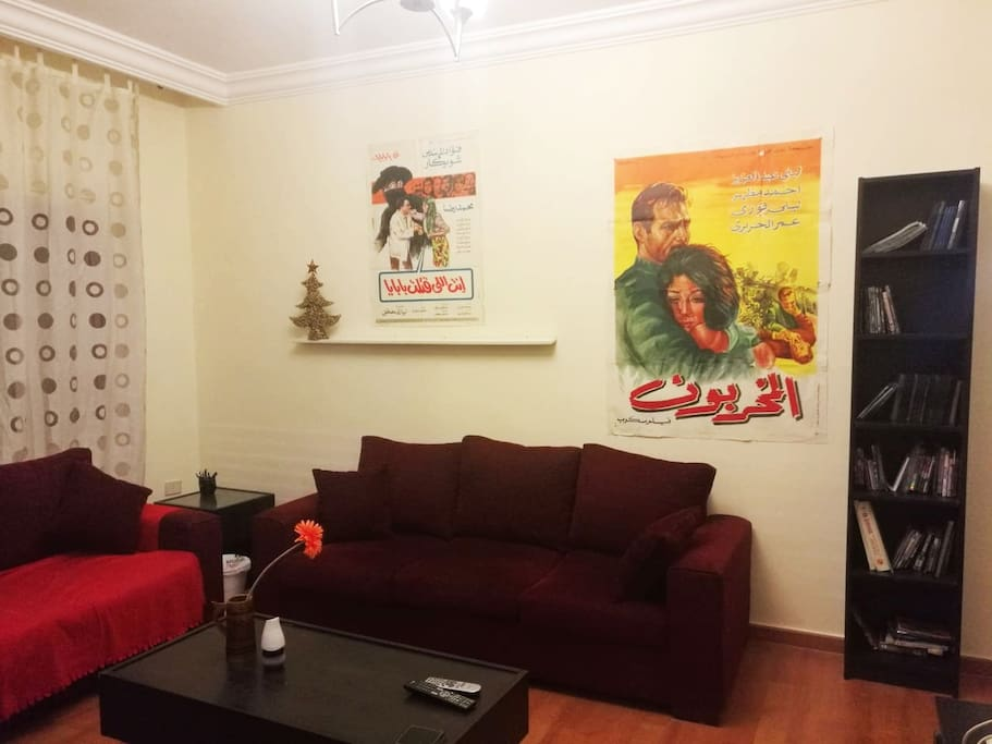 Roba 39 s 3 bedroom apartment in central amman for Living room amman