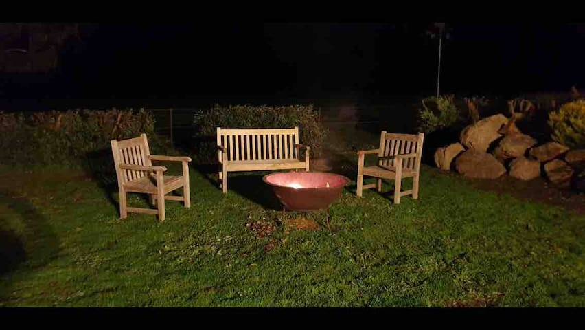 Toast some marshmallows on the Firepit!