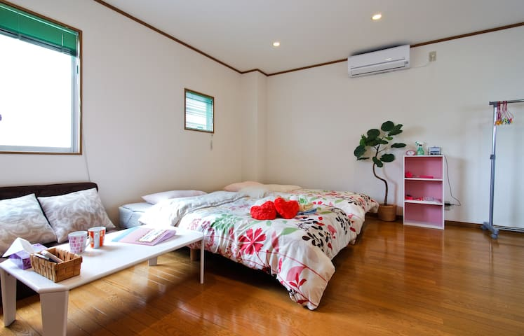 *B★4PPL☆Seaside Osaka clean&wide★Aquarium☆USJ★ - Osaka - Apartamento