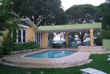 MI HACIENDA ROOM 1, POOL & VIEW LAKE COUNTRY HOUSE - Trujillo Alto