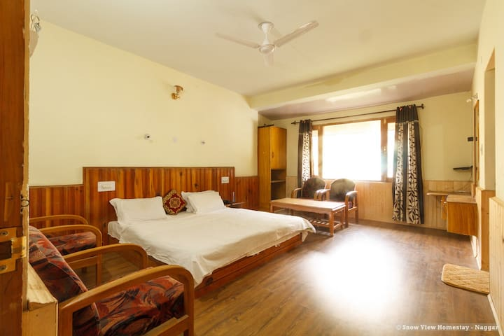 Private Room 3 at Snow View Homestay in Naggar
