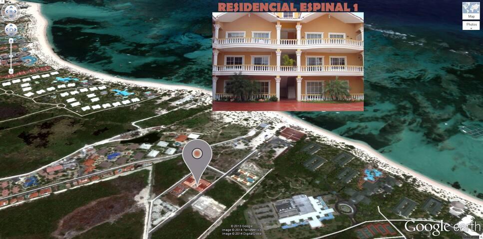 Apto Punta Cana a 150 m de playa / walk to beach - Punta Cana - Pis