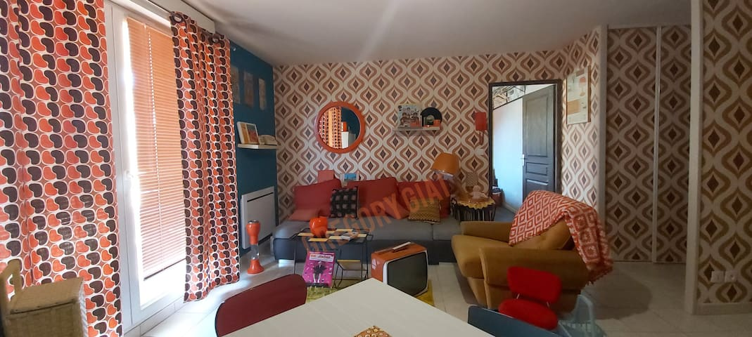 Sejournez vintage à Issoire! A75 Auvergne