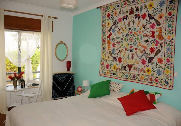 Bright Room in Ericeira Centre,  Sea View Terrace