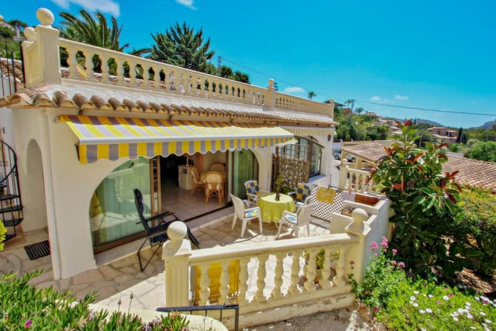 Anita - holiday bungalow with sea view in Teulada