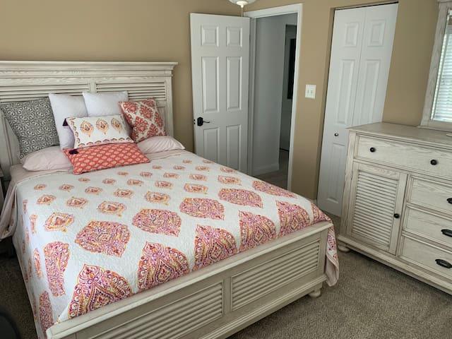 Bedroom #1 - queen bed.