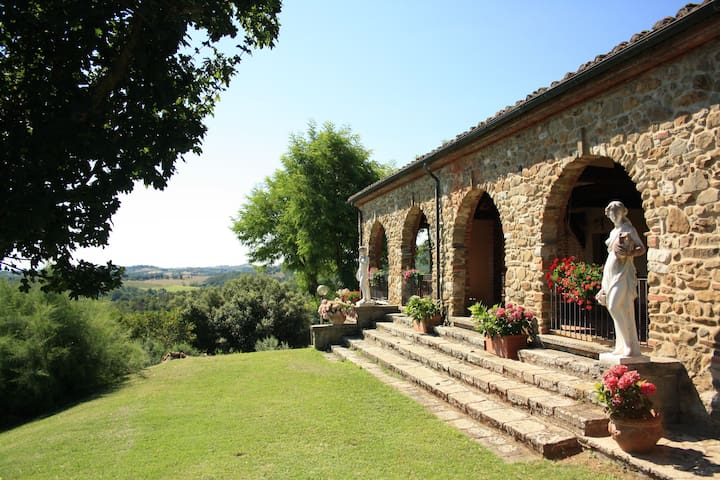 Luxury Villa for large group and weddingVal dOrcia - Trequanda - Villa