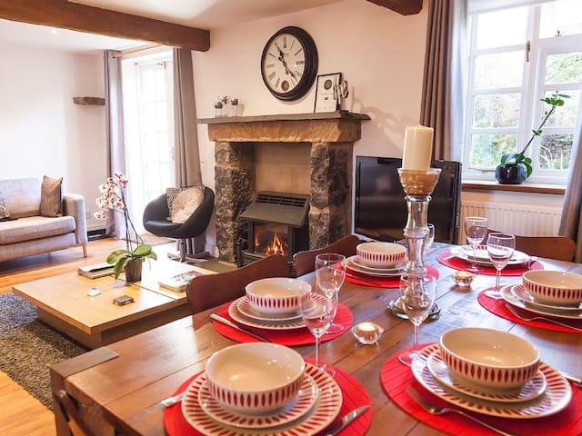 Beautiful stone cottage sleeping 6 - Giggleswick - Talo