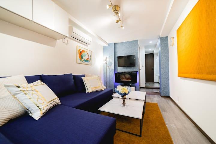 Monthly Service Apartment Shinjuku 質のよい眠りとマッサージ機付