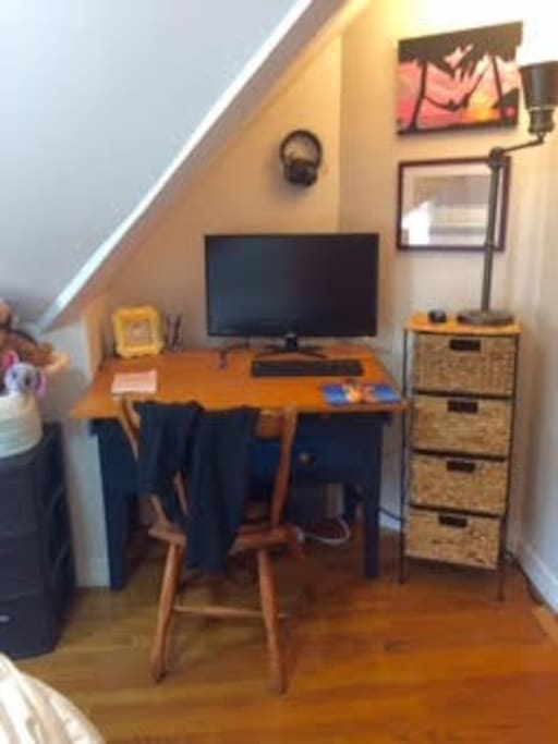 Works space in Bedroom