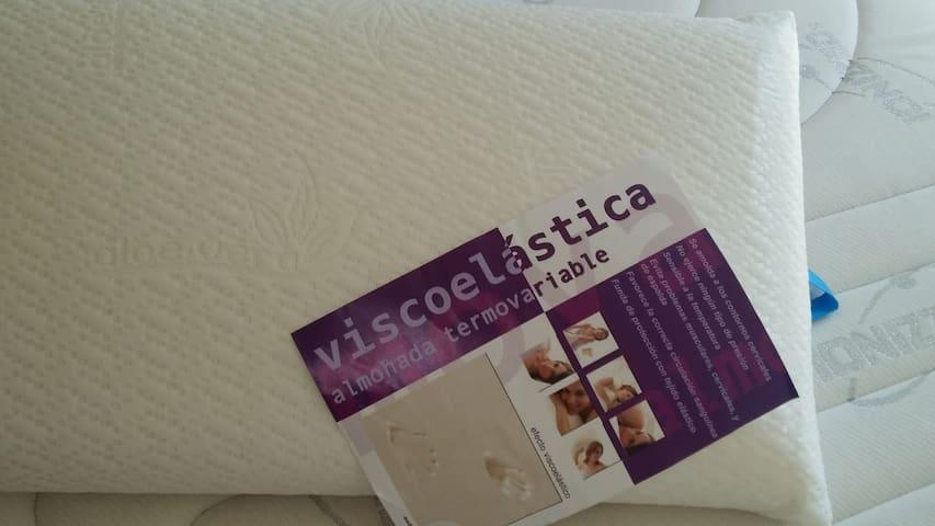 Almohada viscolástica.