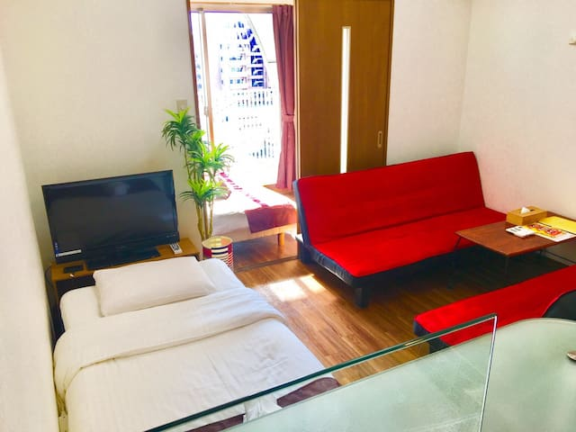 20❤Pretty 1 bedroom 8min Hiroshima Sta Peace Park