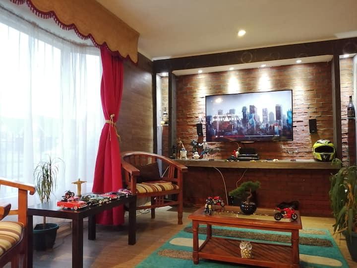 Casa totalmente equipada,ideal para familia