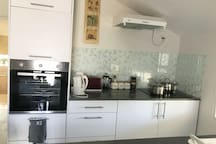 Kitchen with all you need for making your meals