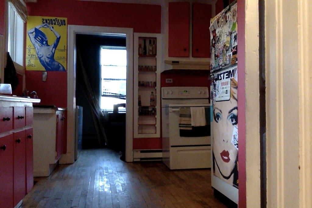 Kitchen where I never cook
