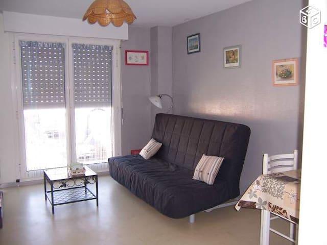 studio de vacance proche des plages - Le Grand-Village-Plage - Apartament