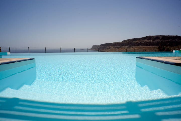 Luxury pool Villa in Lindos with exceptional views - Lindos - Villa