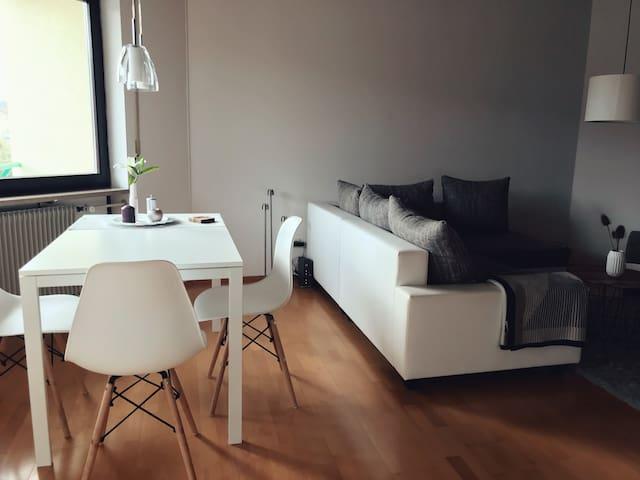 Gemütliche ruhige 2-Zimmer Wohnung mit Balkon