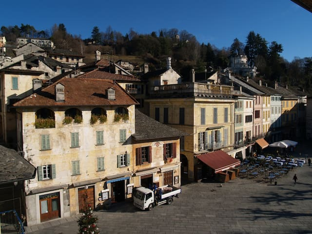 PALAZZOTTO apartment with view on the town