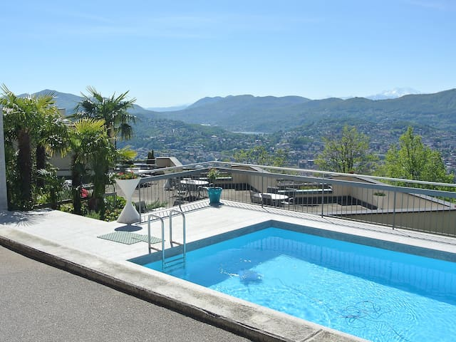 1-room apartment 26 m² Aldesago Monte Brè (Utoring) for 2 persons