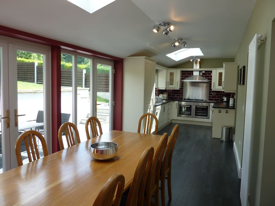 Lovely large dining area