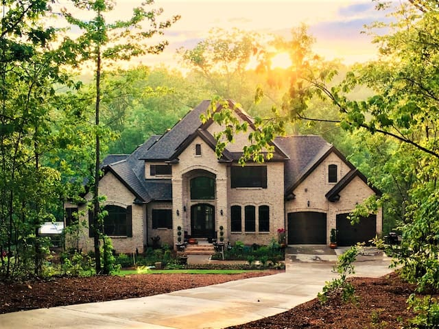 Luxurious nature retreat on Enoree river - 2 bedr.