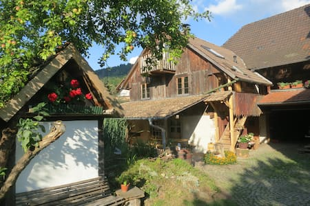Farmstay Rössle in the Black Forest - Appartamento