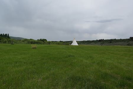 West River Tribe Tipi 6 Lava Family Campground