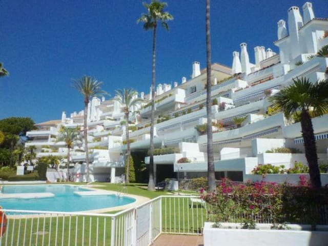 Flat Marbella Rio Real with a big terrace and near the beach