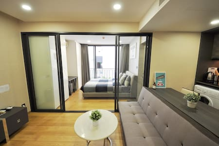 1 BR NEW CONDO, CHITLOM BTS, CENTRAL, GYM, POOL K2 - Bangkok