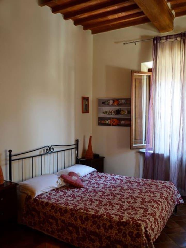 Le nostre camere possono essere composte sia da letto matrimoniale che da letti singoli.