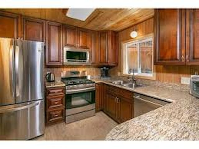 Kitchen complete with Amenities