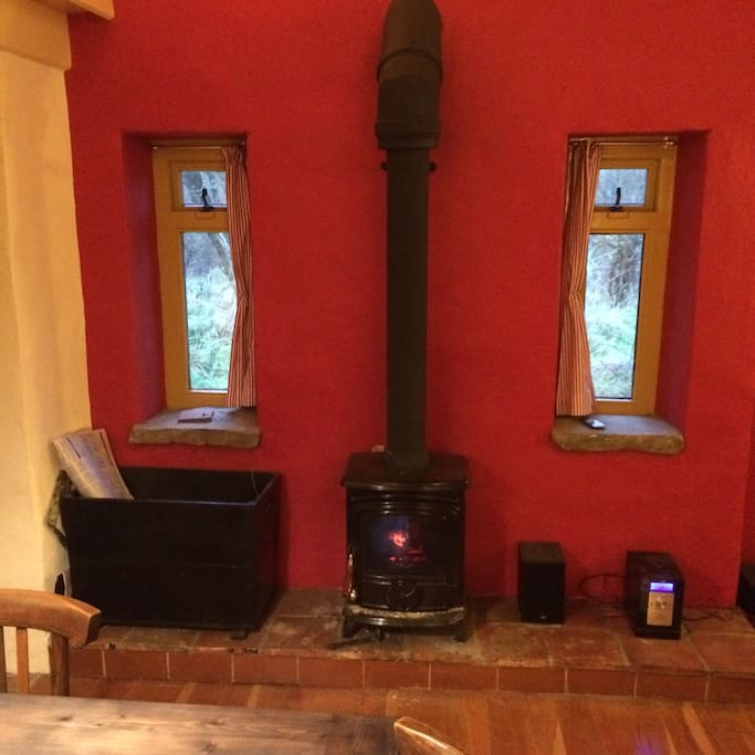 Turf/coal/wood stove