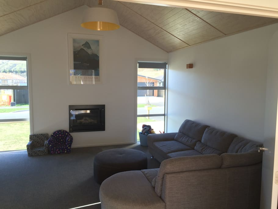 Family Lounge with Gas Fire