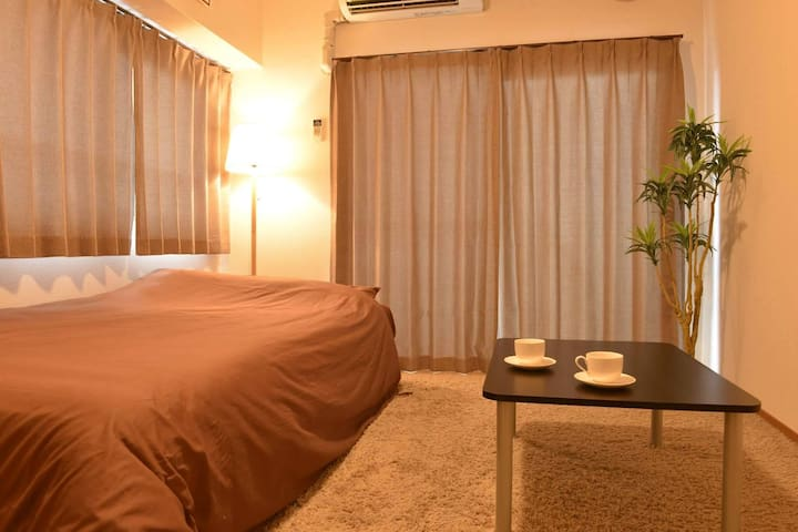 middle of Tenjin downtown / BOX 1 - Fukuoka-shi - Appartement