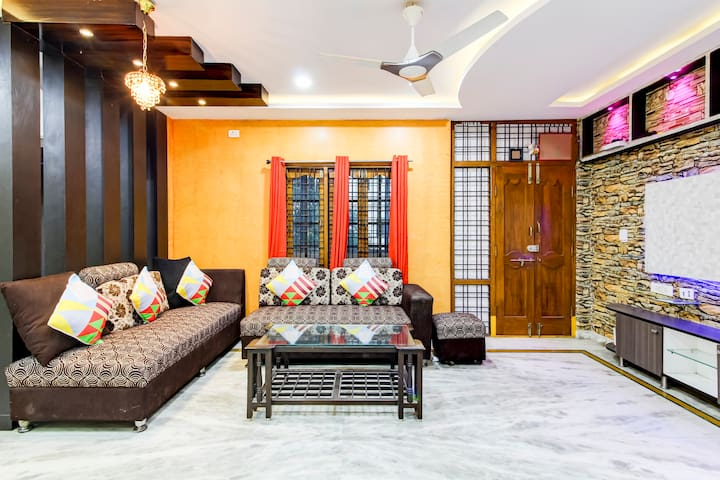 OYO Vibrant 1BR Stay in Kondapur, Hyderabad