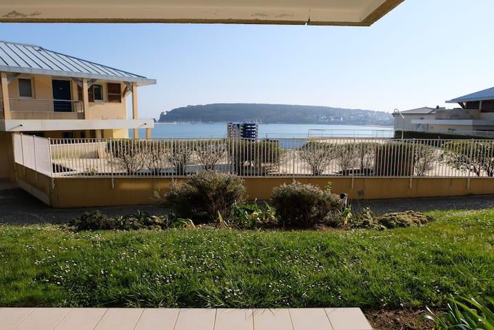 Appartement 4/7p. vue mer terrasse 3 * Cap Morgat