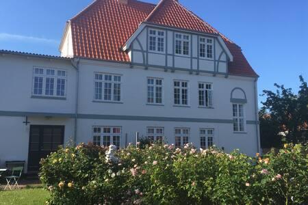 Hyggelig 2.sals lejlighed  i centrum Nexø