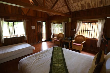 Mai Chau Nature Lodge - Superior Family Bungalow
