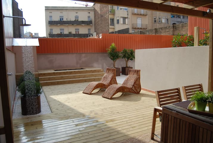 Duplex with swimming pool for 5 people - M14IRPB1