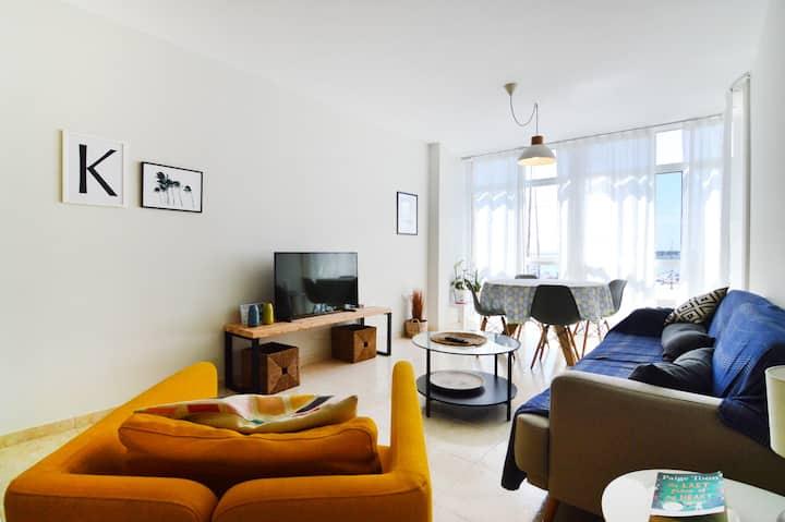 Casa Kora. Corralejo apartment with seaview.