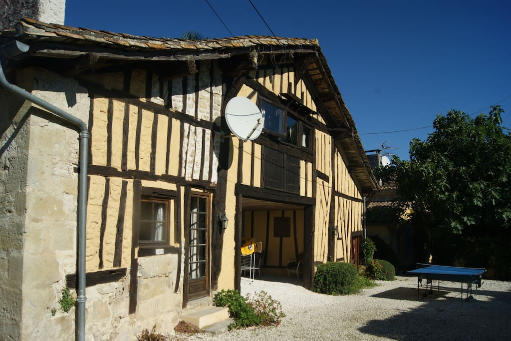 A range of accommodation in four gites - 2, 4, 6 and 8 person