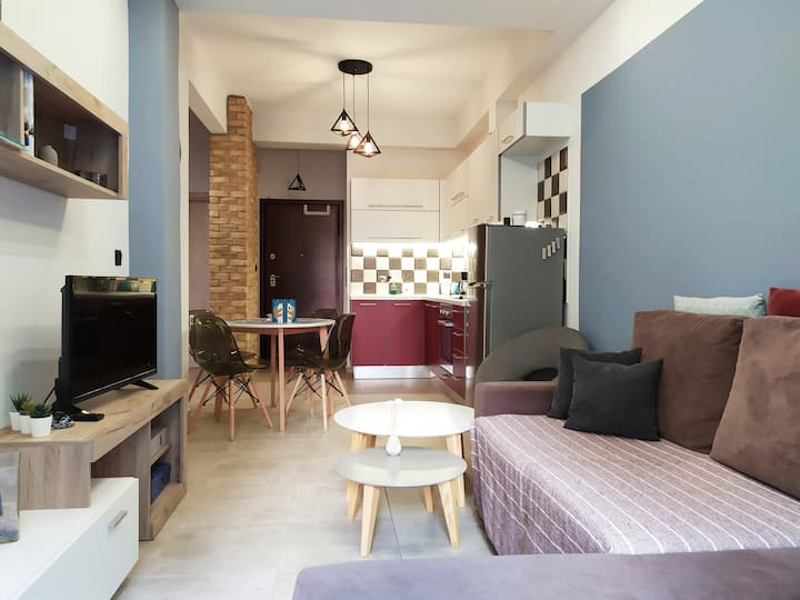 Elegant Central Flat •Totally Renovated/2-6 guests