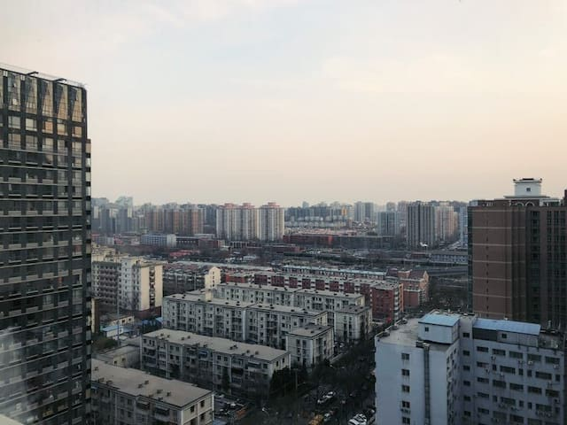 Central Beijing 2bdrm Charming apt near metro