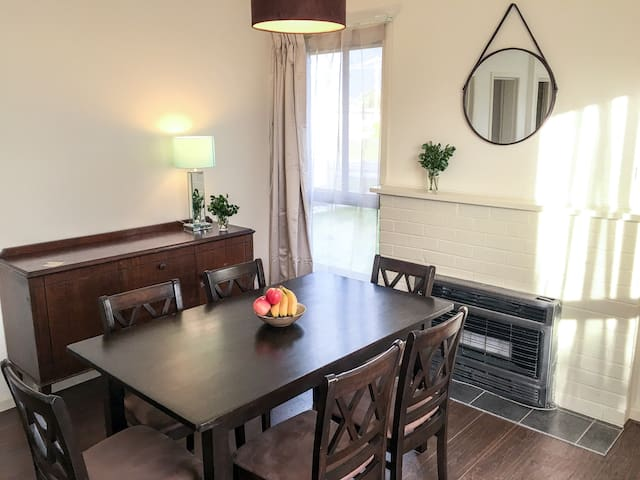 Dining: Large, light filled dining room