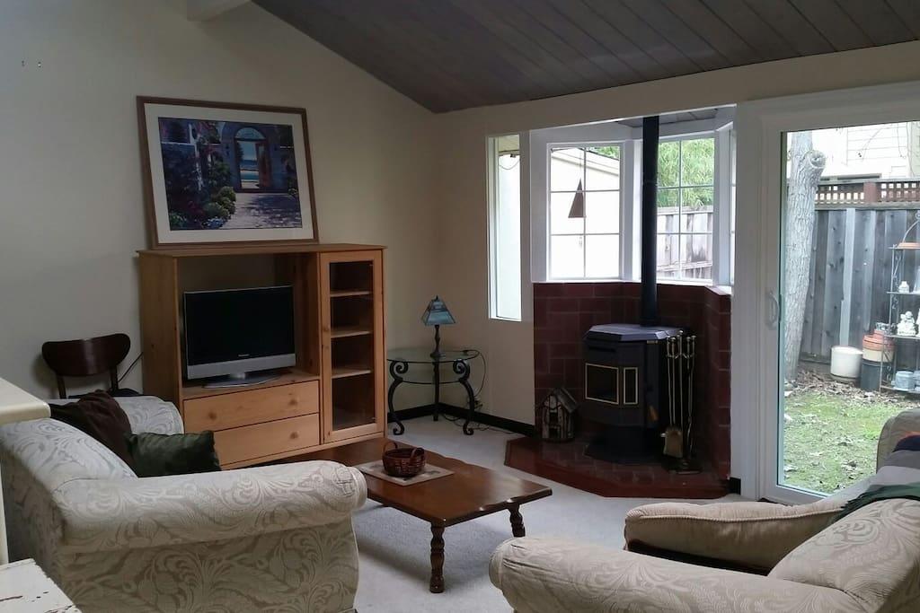 Living space, ground floor.