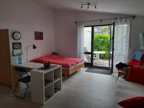 Meckenheim bei Bonn, helle 1-Raum-Einliegerwohnung
