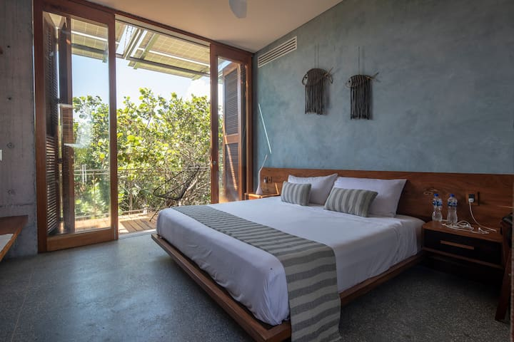 Third room with a King size bed with high quality bed linen.
