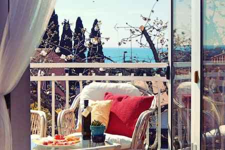 PRIVATE TERRACE apartment with AMAZING OCEAN view
