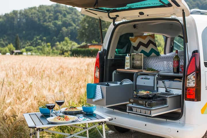 Cuckoo campervan - Nest Campers